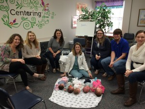 CenteringPregnancy group with Dr. Sharai Amaya
